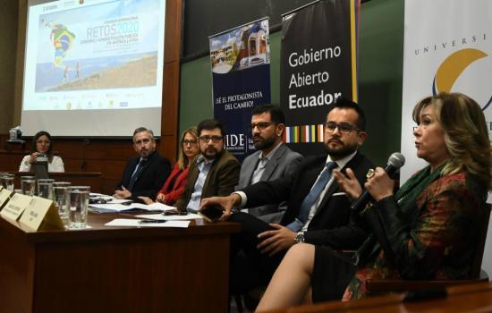 Ecuador presentará en mayo su primer Plan de Acción de Gobierno Abierto