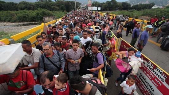 180 venezolanos viajan desde Quito el sábado en plan Vuelta a la Patria