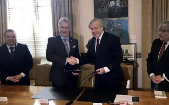 OEA firma acuerdo con Consejo Electoral para observar los comicios