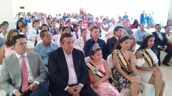 Sesión solemne por los 21 años de cantonización de Jama