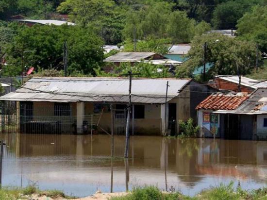 5.488 familias afectadas  por las inundaciones