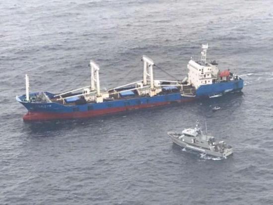 Vigilan a los barcos chinos