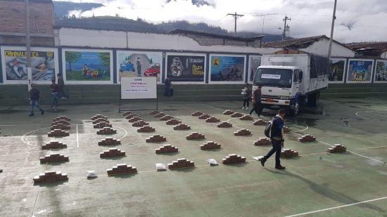 Antinarcóticos incauta más de 700 kilos de droga en varios operativos