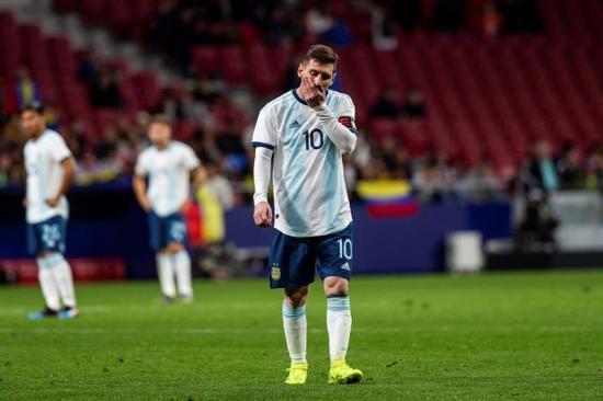 Venezuela vence 1-3 a Argentina en el regreso del capitán albiceleste, Messi