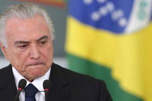 Expresidente de Brasil pasa su primera noche en prisión y aguarda para ser interrogado