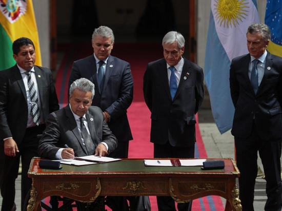 Países de América del Sur se unieron para crear el prosur