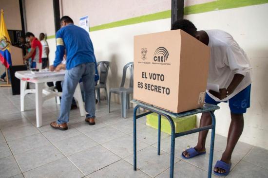 Votaciones en la cárcel