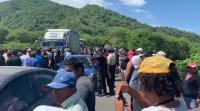 Pescadores del sur de Manabí cerraron vía pidiendo se respete la veda