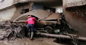 25 viviendas afectadas tras aluvión en la capital ecuatoriana