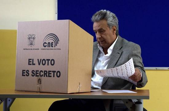 Lenín Moreno dijo que trabajará con los candidatos ganadores