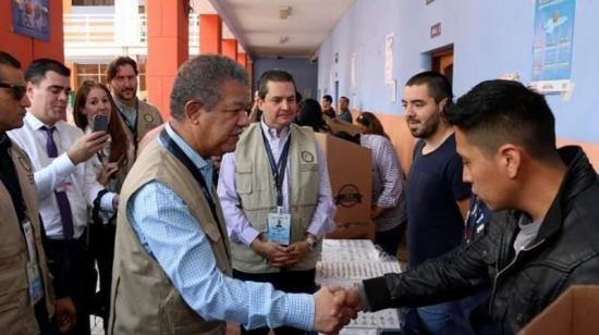 Misión de la OEA constata tranquilo desarrollo de elecciones en Ecuador