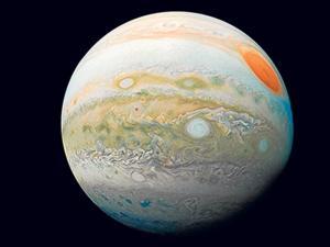Difunden una foto de 'la canica Júpiter'