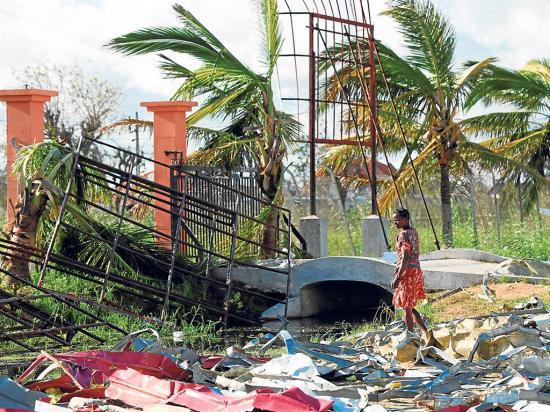 Suben a 417 los muertos a causa del ciclón Idai