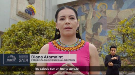 Autoridad electoral inaugura desde Ecuador el sufragio en el exterior