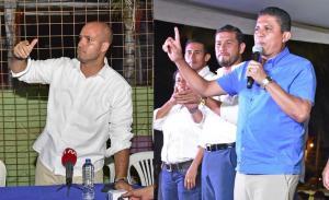 Intriago y Delgado se declaran ganadores de la alcaldía de Manta