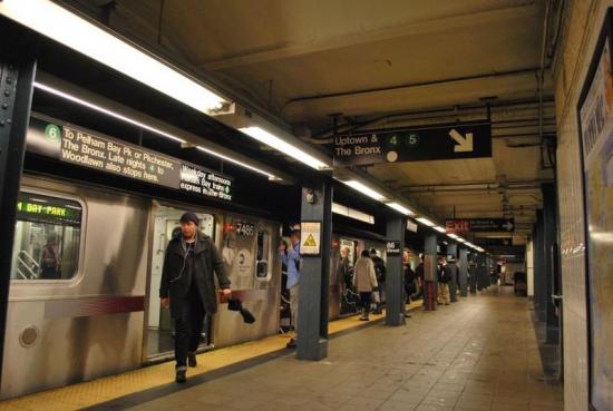 Detenido un hombre que golpeó brutalmente a una anciana en el metro de New York