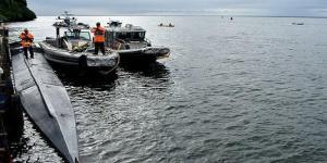 Incautan en Pacífico de Colombia semisumergible con 1.562 kilos de cocaína