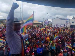 Delfín Quishpe se convierte en el virtual ganador de la alcaldía de Guamote