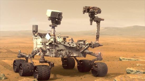 Robot Curiosity halla en Marte nitrógeno, esencial para la existencia de vida
