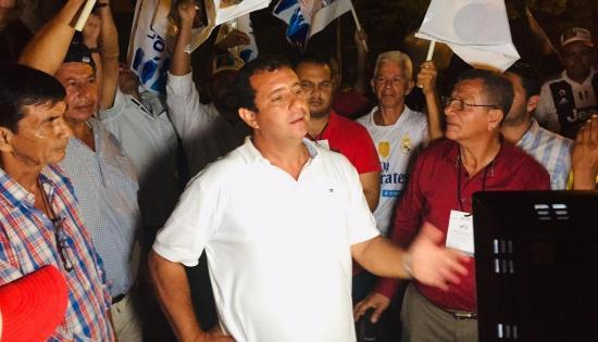 Con el 95,87% de escrutinio, Leonardo Orlando lidera votación de prefecto de Manabí