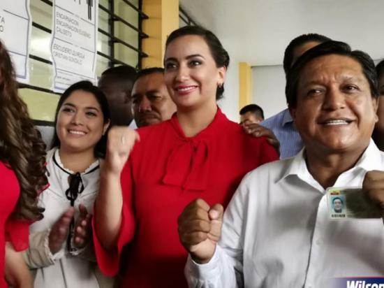 Johana Núñez lidera votación de la prefectura de Santo Domingo, según CNE