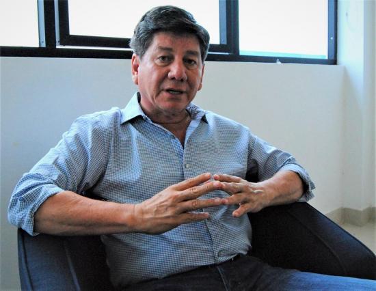 Johnny Terán se impone en votación de prefecto de Los Ríos, según CNE