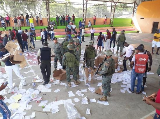 Disturbios en Tululbí