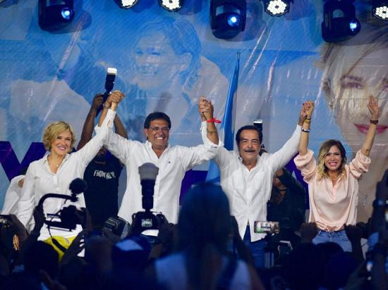 Según información preliminar del CNE, Cynthia Viteri es la virtual ganadora de la alcaldía de Guayaquil