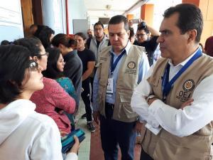 Observadores de la OEA detectaron falla tecnológica en difusión de resultados de comicios