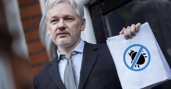 Gobierno se reserva acciones contra Assange por cable WikiLeaks contra presidente Moreno