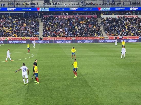 Ecuador y Honduras empatan sin goles en el amistoso disputado en el Red Bull Arena