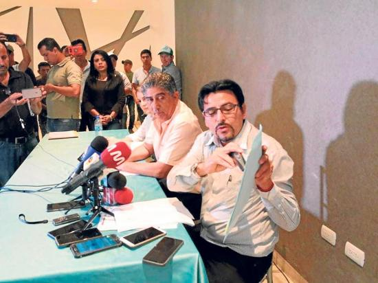 Jaime Estrada asegura que ganó la Prefectura y pone fe en 2 cantones