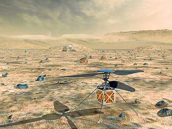 La Nasa enviará helicóptero al planeta Marte