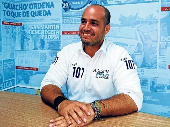 Agustín Intriago: 'El sueño se me cumplió'