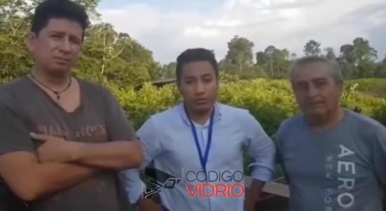 Revelan video del equipo periodístico de El Comercio días después de su captura
