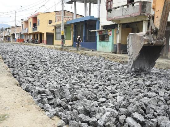 Intervención municipal en calles de Picoazá  alegra a moradores