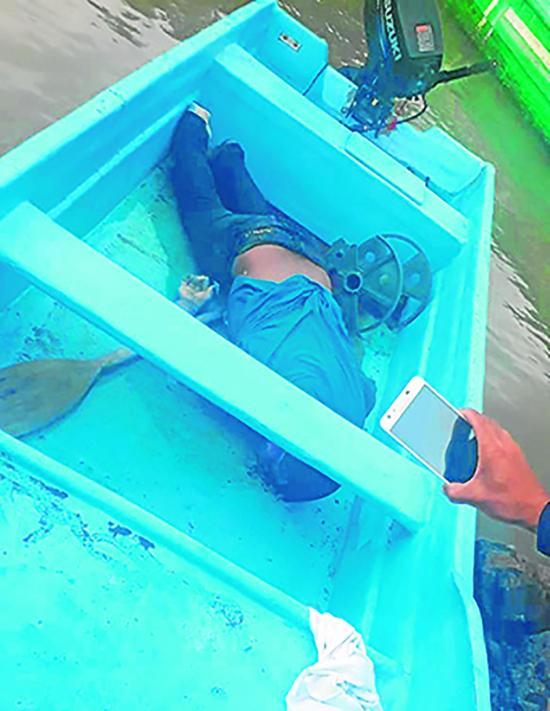 Mar devuelve el cuerpo de felipe