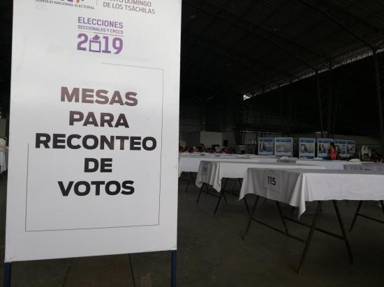 Reconteo de votos por inconsistencias