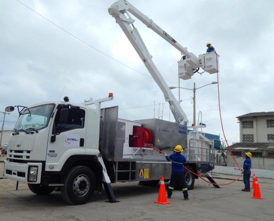 CNEL anuncia suspensión de energía eléctrica la madrugada de este viernes, en Tosagua