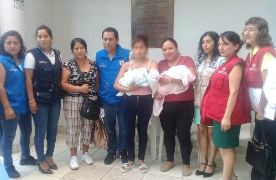 Dos bebés fueron intercambiadas en un hospital de Lima, Perú