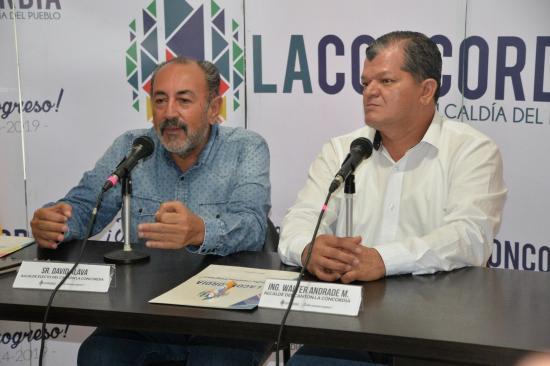 Álava y Andrade se reúnen en el municipio