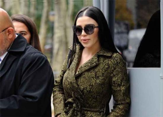 La mujer del Chapo quiere lanzar una marca de ropa con el nombre de su marido