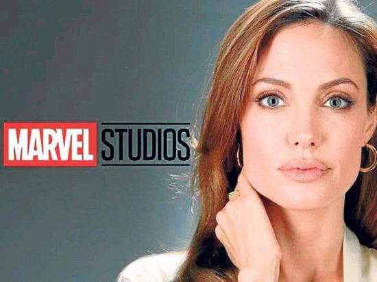 Angelina Jolie está siendo tentada por Marvel para nuevo filme