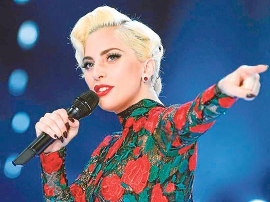 Celebran los 33 años de la cantante Lady Gaga