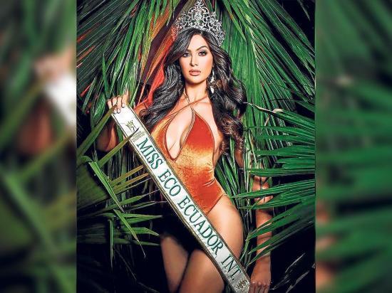 El objetivo de la manabita Jocelyn Mieles es traer la corona del Miss Eco International al país