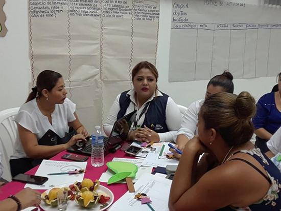 Coordinan labor contra desnutrición