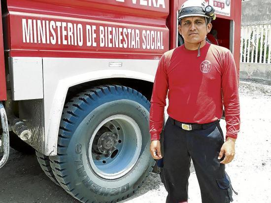 Ser bombero le ha mostrado hechos  que jamás olvidará