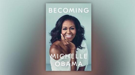 El libro de memorias de Michelle Obama llegó a la lista de los más vendidos antes de su lanzamiento