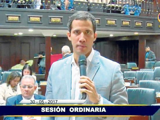 Guaidó resultó ileso en ataque