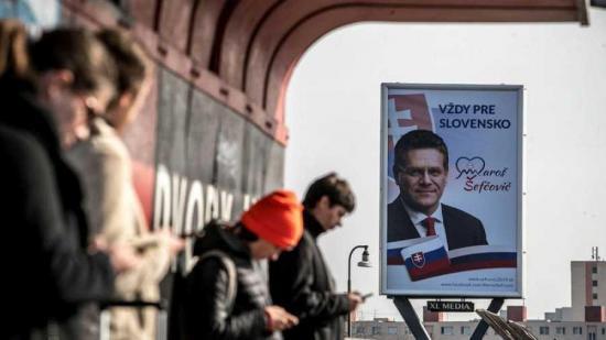 Las elecciones presidenciales eslovacas transcurren con normalidad